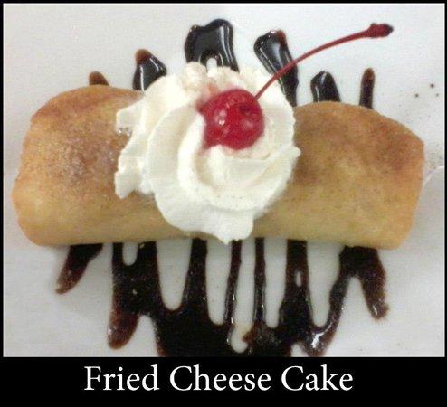Tea Birds Cafe & Restaurant: Deep Fried Cheese Cake...