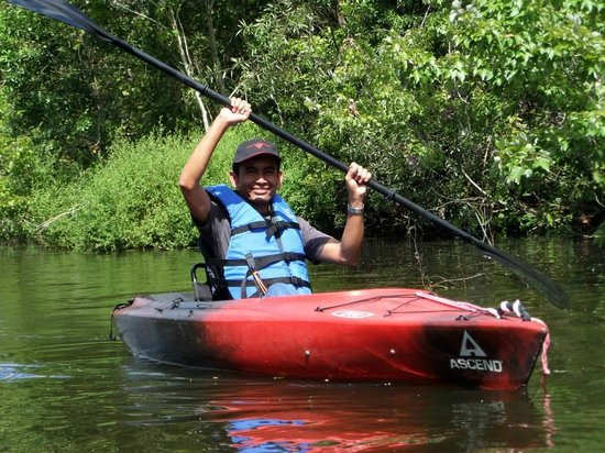 Palm Bay Kayaks: First time kayaking