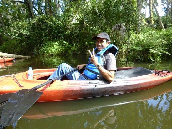 Palm Bay Kayaks: Hello, Mom