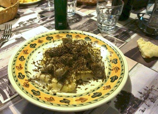 L'Umbricello del Coccio: The pasta with truffle