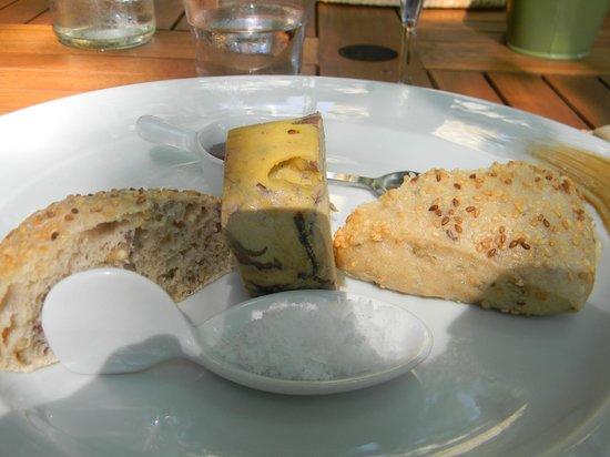 Le Garlaban : foie gras au banyuls