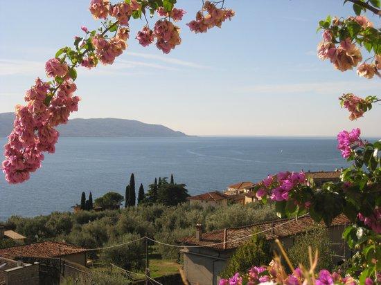 Hotel Villa Europa: Blick vom Balkon des Zimmers