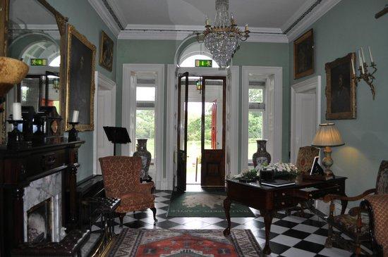 Ballyseede Castle: Entrance Hall