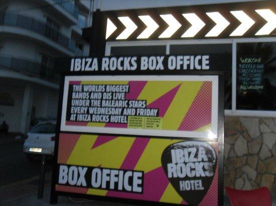 Ibiza Rocks Hotel: ticket sales