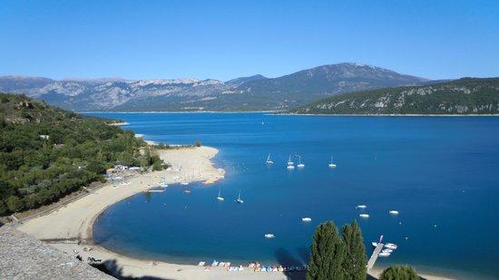 Lac ste croix picture of lac de sainte croix sainte - Sainte croix du verdon office du tourisme ...