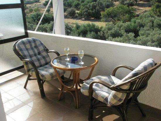 Athina Hotel: Heerlijk balkon