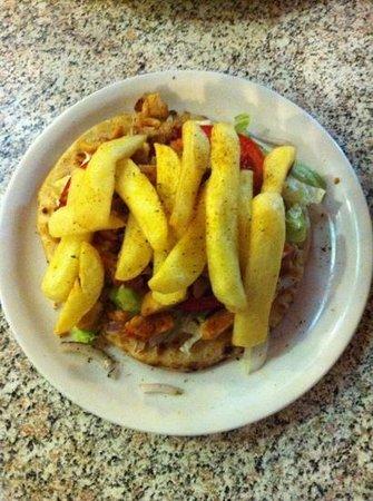 Tasty Corner: open pita