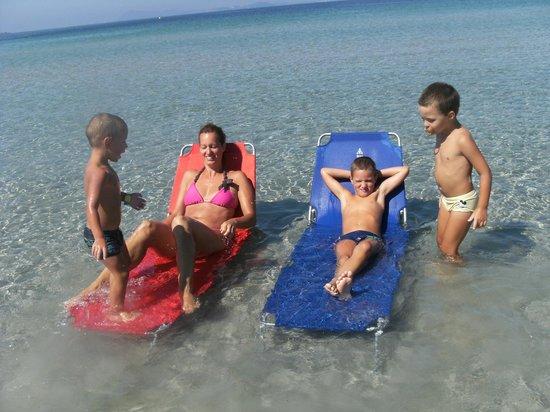 Camping La Presqu'ile de Giens : 1 ^ spiaggia delle saline