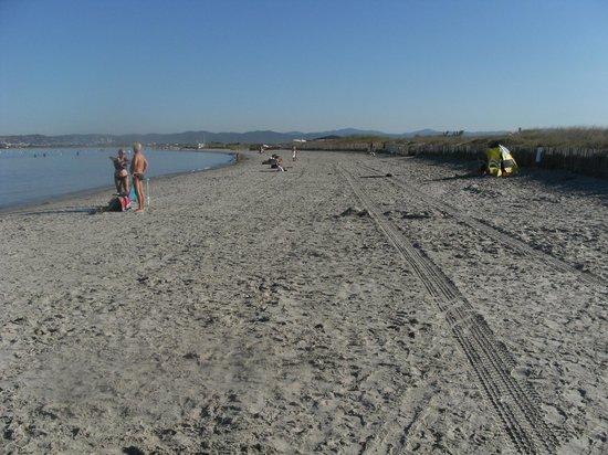 Camping La Presqu'ile de Giens : spiaggia delle saline