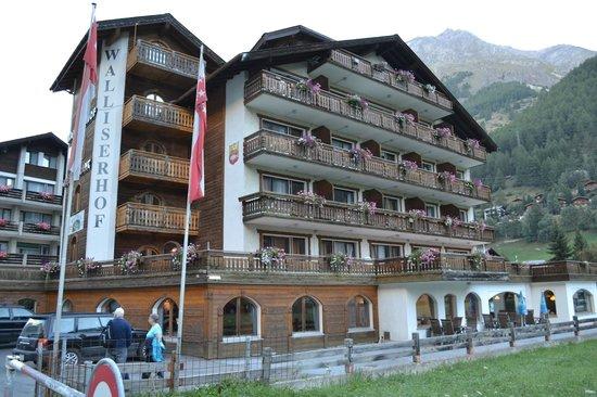 Hotel Walliserhof Zermatt: Our hotel
