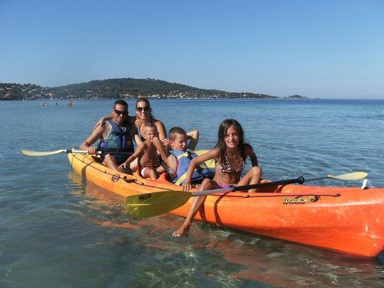 Camping La Presqu'ile de Giens: naviganti