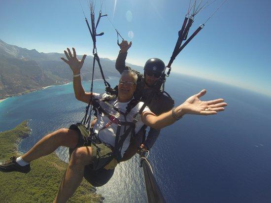 Sky Sports Paragliding: What a pilot Aziz