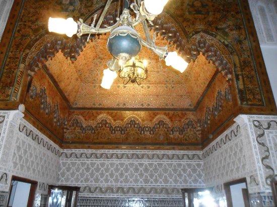 Riad Damia beautiful ceiling