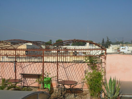 Riad Damia rooftop terrace
