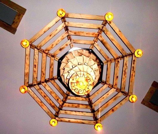 Athens Beer Restaurant: spider light
