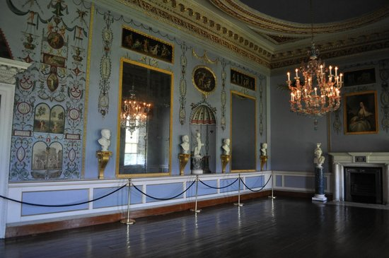 Castletown House: French mirrors