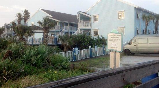Sea Villas: near top balcony is Unit 235