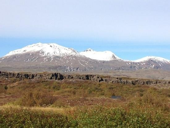Pingvellir National Park Campground Picture