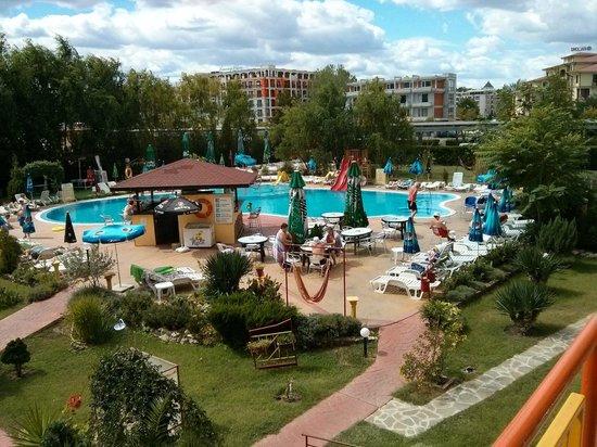 Trakia Garden Hotel : Вид из номера