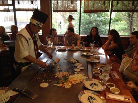 Mt Fuji Restaurant: Hibachi Chef, II of III