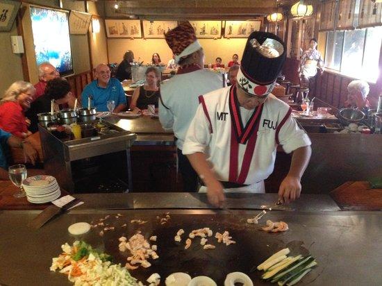 Mt Fuji Restaurant: Hibachi Chef, III of III