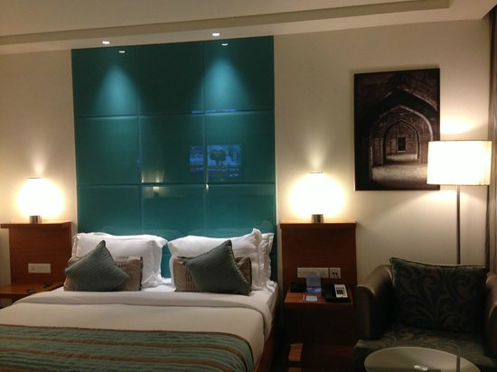 Radisson Blu Hotel Chennai City Centre Room Colour Combination