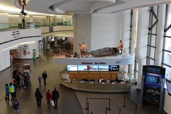 พิพิธภัณฑ์อารยธรรมแคนาดา: O museu mostra-nos a herança dos aborígenes do Canadá e muito mais.