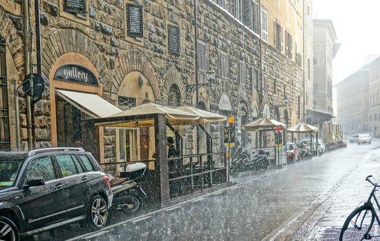 A Casa di Olivo: Florence under the rain