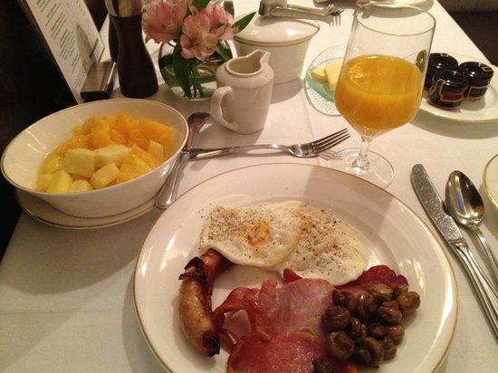The Shelbourne Dublin, A Renaissance Hotel : Made-to-order Breakfast