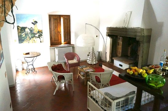 A Casa di Olivo: Living room