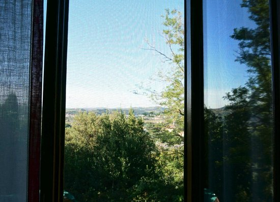 A Casa di Olivo: View from the room (mosquito protected)