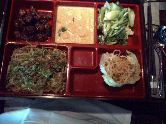 Spicy Duck : Set Meal in a Bento Box