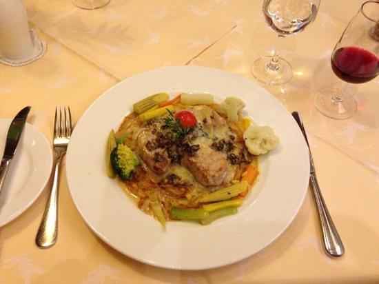 Hotel De la Paix: Dinner