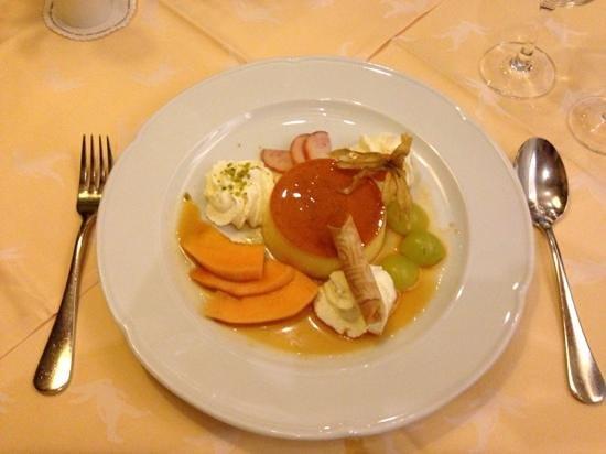 Hotel De la Paix : Dessert