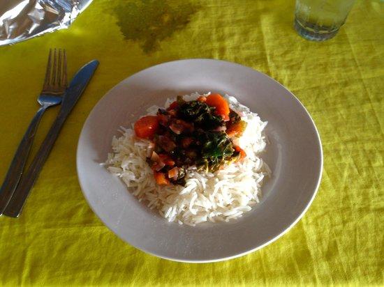Juma Restaurant: Riso alle verdure