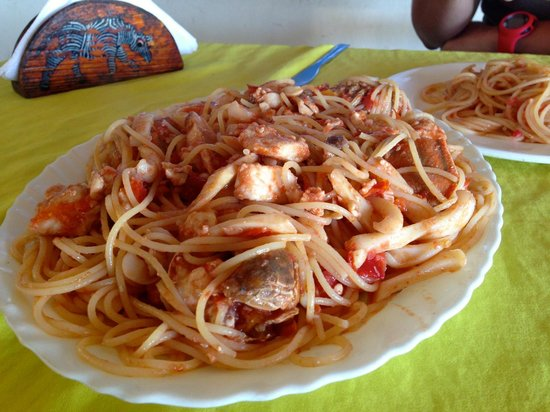 Juma Restaurant: Pasta ai frutti di mare