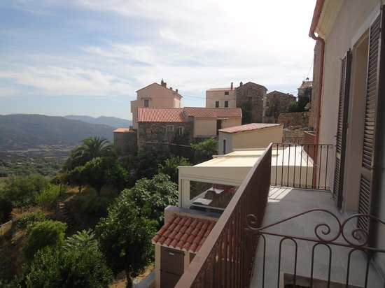 Hotel Villa les Orangers: une belle du balcon