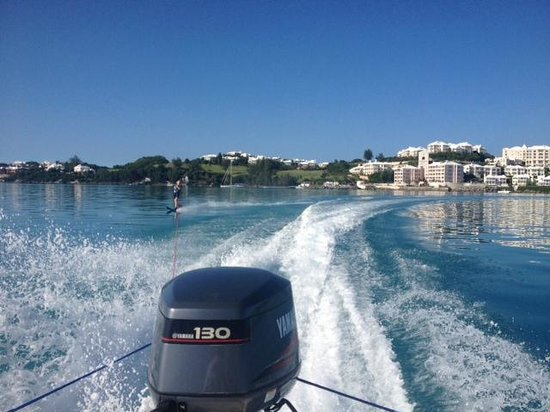 Tucker's Point Dive and Water Sports Centre: Water Skiing and Tubing Available