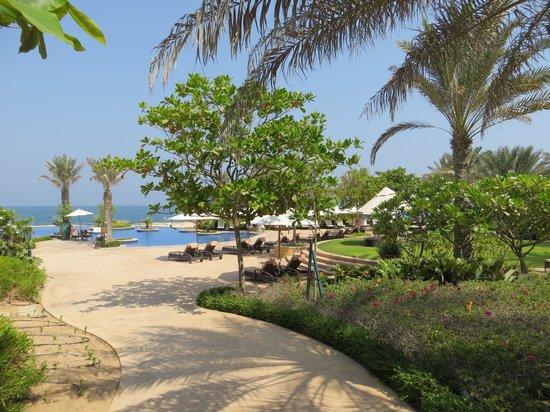 Anantara Desert Islands Resort & Spa: Poolarea