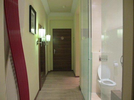Hotel Vienna: Hallway in room