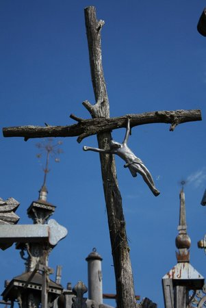 Berg der Kreuze Šiauliai: Jesus