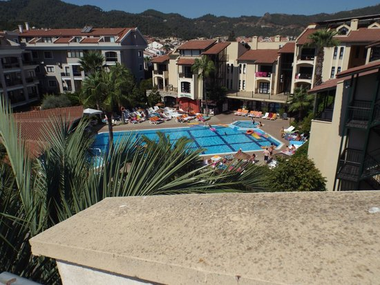 Club Turquoise: View from room 308