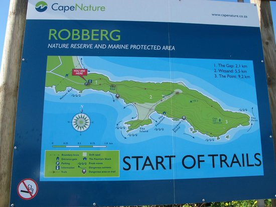 Robberg Nature Reserve: 3 Trails of different lengths to choose from
