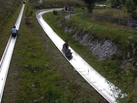 The toboggan at La Vue-des-Alpes