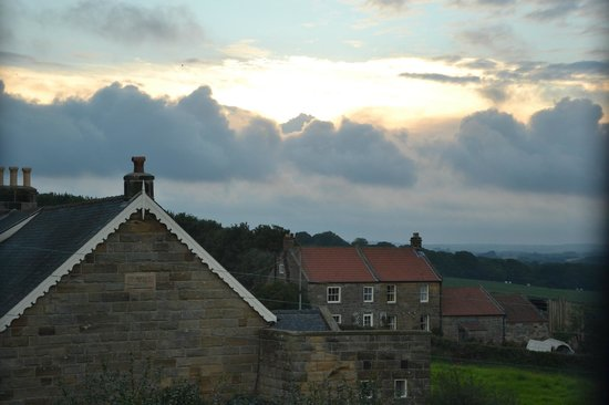 Dunsley Hall: View inland