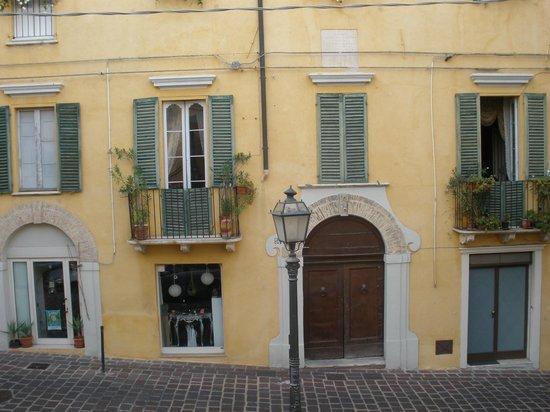 Antico Borgo Chieti: view out the window