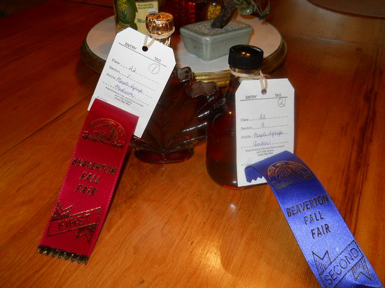Grant House Bed & Breakfast: Enjoy our homemade Maple Syrup on your French Toast, Pancakes or Belgian Waffles