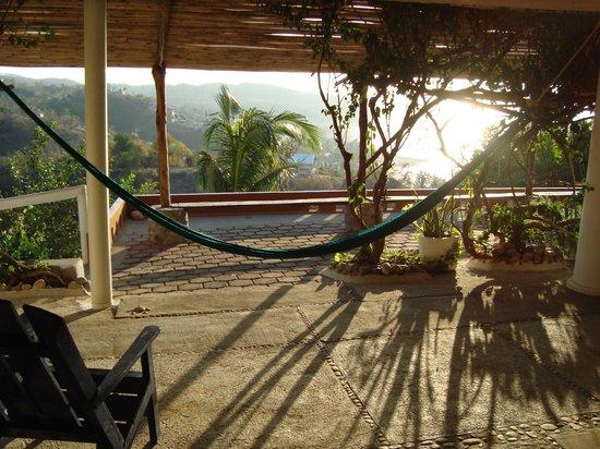 Hotel Posada Arigalan: Terraza