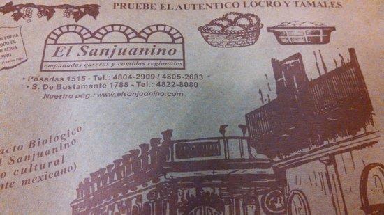 El Sanjuanino: Jogo americano.