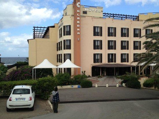 Calabona Hotel Alghero Sardegna: Hotel entrance